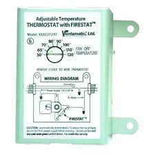 attic fan install thermostat and controlled vent control thermostat controlled fan switch attic exhaust wiring diagram how to wire two new fans a
