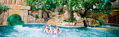Indoor pool with slide Outside Mt Olympus Mt Olympus Indoor Water Park Wisconsin Dells Mt Olympus Resort
