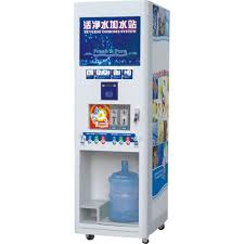 Bulk Water Vending Machines Gorgeous Water Vending Machine With Double Water OutletsWater Vending Equipment