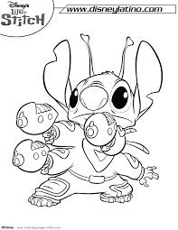 Lilo Stitch Coloring Pages Coloring Pages For Kids Disney