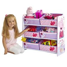 Peppa Pig Bedroom Furniture Peppa Pig Kids Storage Unit By Hellohome Amazoncouk Kitchen