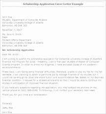 Student Affairs Cover Letter Sample Scholarship Cover Letter Sample Capriartfilmfestival