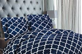 utopia bedding 3 piece printed duvet cover set