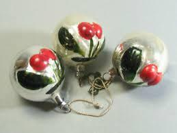 Alter Christbaumschmuck Weihnachten Aus Einer Sammlung