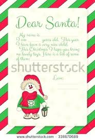 Blank Santa Letter Template Pdf Personalized Letters From Cover