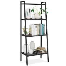Amazoncom Metal 4 Shelf Bookcase Multifunctional Ladder