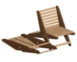 garden folding chair plan