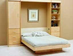 Murphy bed Vancouver Wall cabinet with folding bed - living ideas for  practical wall beds