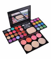 ads fashion colour makeup kit eye shadow blusher lipstick makeup palette kit