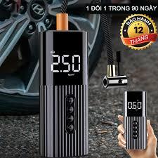 xách tay nhỏ gọn] máy bơm lốp ô tô 12v, ống bơm hơi điện tử mini