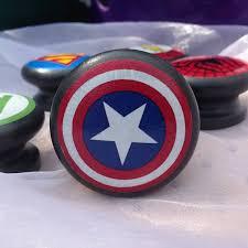 Backyards : Door Knobs Handles Original Superhero Captain America ...