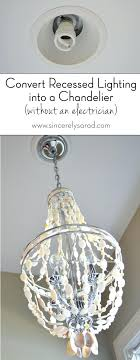 can light conversion kit pendant lights recessed lighting top example convert stylish in to decor 7
