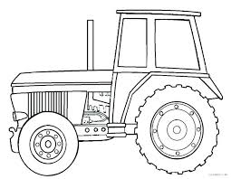 Tractor Color Pages Coloring Pages Tractors Free Printable Farm