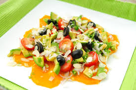 gezonde zomerse salade