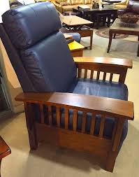 best leather recliner. Best - Leather Tuscan Mission Recliner | Harris Family Furniture Stores In NH