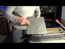 how to cut porcelain tile using a tile cutter