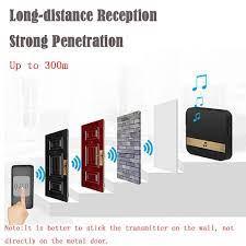 AC90-250V kablosuz WiFi kapı zili hoşgeldiniz çan akıllı ev kapı zili Alarm  akıllı kapı zili