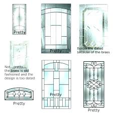 stained glass inserts for exterior doors front door leaded custom charming insert pics a d