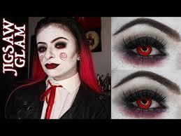 jigsaw glam makeup tutorial billy the puppet