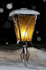 Snowfall Blizzard Lights Hd Wallpaper Lantern Light Snowfall Winter Dark Cold