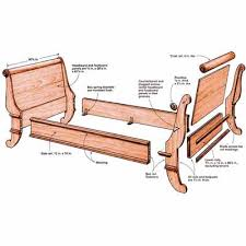 Synopsis: Christian Becksvoort didn't have time to build a sleigh bed he  liked, so he figured out how to capture the essence and build it  efficiently  in ...
