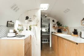 Airstream Interior Design Minimalist Unique Inspiration