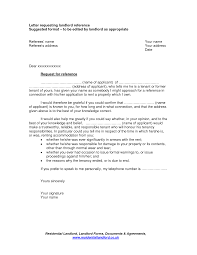 Request Reference Letter Best Photos Of Previous Landlord Reference Letter Request