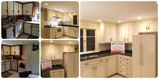 cabinet refacing before and after. Modren Before North Andover MA Kitchen Cabinet Refacing Before And After With And N