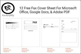 The 13 Best Fax Template Sites Of 2019
