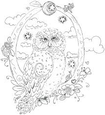 Free Printable Owls Free Printable Owl Coloring Pages For Adults