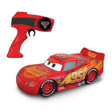 roll over image to zoom larger image cars 3 turbo charge lightning mcqueen radio control thinkway toys r us