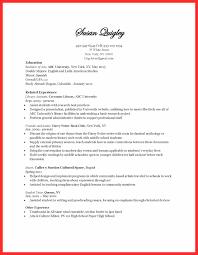 Poor Resume Examples Good Resume Format