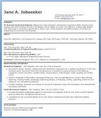 Mechanical Resume Sample Resume Layout Com