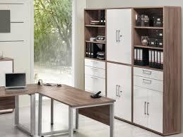 contemporary office storage. Maja, Harmony, Modern Office Storage Cabinets In White And Truffle Oak  Finish Thumbnail Contemporary