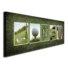 personalized golf framed canvas wall art live preview choose each photo multiple options on golf wall art near me with personalized golf framed canvas wall art live preview choose each