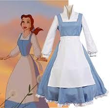 Belle Blue Dress Pattern Beauteous Beauty And The Beast Belle Light Blue Dress Adult Women's Halloween