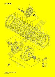 clutch modele k6 engine transmission rm250 k6 rm250z k6 e03e28 2006