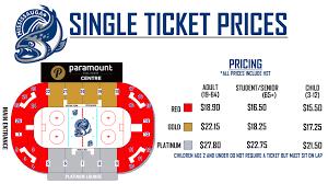 Ottawa 67 Seating Chart Single Tickets Mississauga Steelheads