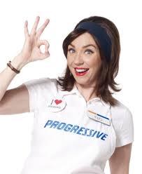 watch progressive s 100th ad with flo scene and heard scene s news blog