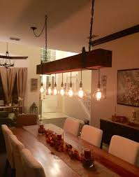 edison bulb chandelier wood reclaimed wood beam chandelier with edison bulb globes images
