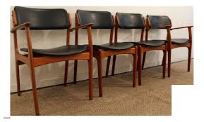 dining chairs set of 4 inspirational teak dining chairs outdoor beautiful erik buch for o d mobler teak