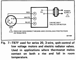 3 wire thermostat schematic golkit com Taco Low Voltage Wiring carving honeywell thermostat t87 \ getrithm Low Voltage Wiring Basics