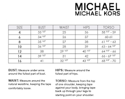 Michael Michael Kors Fit Guide Blums Swimwear Intimate