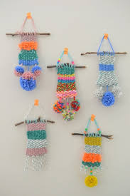 10 art craft wall hanging diy weaving wall hangings with yarn for kids