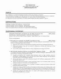Sap Basis Sample Resume Unique Sap Bi Sample Resume For 2 Years