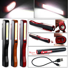 Magnetic Pocket Light Details About Cob Led Light Rechargeable Magnetic Pocket Pen Inspection Work Flashlight Clip
