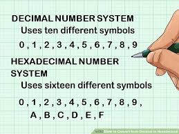 How To Convert From Decimal To Hexadecimal With Converter
