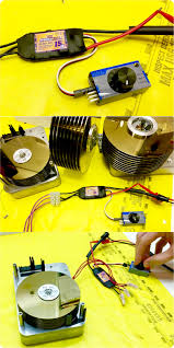 esc electronic speed control used to run a hard drive motor bldc chang e 3