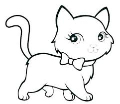 Kitty Cat Coloring Sheets Kitty Cat Coloring Page With Pages Online