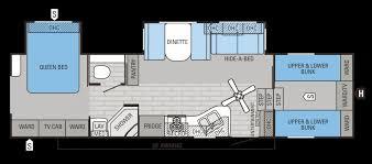 fifth wheel floor plans bunkhouse with regard to 2016 eagle fifth wheels floorplans s jayco inc